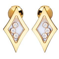 Chopard Happy Diamonds Yellow Gold Earrings 83/5795