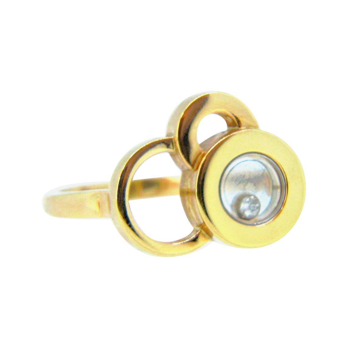 Chopard Happy Dreams Happy Diamonds Rose Gold Ring