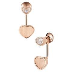 Chopard Happy Hearts Golden Hearts Earrings 83A007/5021