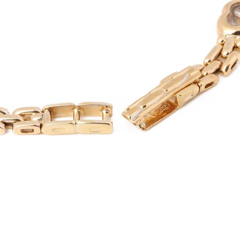 Chopard Happy Hearts Link Bracelet In Good Condition For Sale In Bishop's Stortford, Hertfordshire