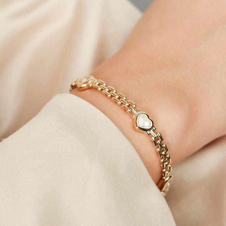Chopard Happy Hearts Link Bracelet For Sale 1