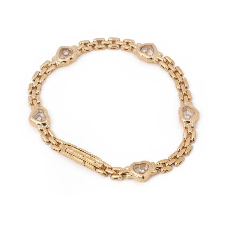 Chopard Happy Hearts Link Bracelet For Sale 2