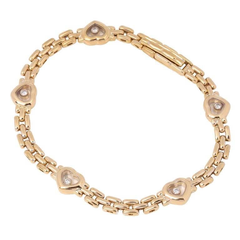 Chopard Happy Hearts Link Bracelet For Sale