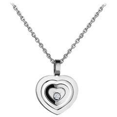Chopard Happy Spirit Happy Diamond Heart Necklace 797983-1001