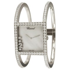 Chopard Happy Sport 18 Karat White Gold Limited Diamond Watch