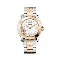 Chopard Happy Sport 2 Two-Tone Ladies Watch 278488-9001