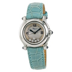 Chopard Happy Sport 27/8245-23 Women's Quartz Watch with Box and Papers
