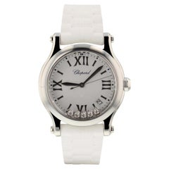Chopard Happy Sport 278582-3001, White Dial, Certified and Warranty