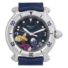 Chopard Happy Sport 288347, Blue Dial, Certified and Warranty