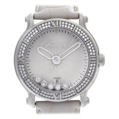 Chopard Happy Sport 288525-3003, Silver Dial, Certified and Warranty