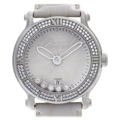 Chopard Happy Sport 288525-3003, Silver Dial, Certified