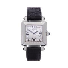 Chopard Happy Sport 7 Diamond Stainless Steel 27 8325 23 Wristwatch