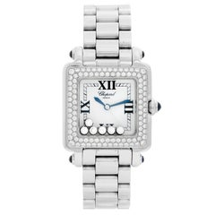 Chopard Happy Sport 6-Floating Diamonds Stainless Steel and Gold 27/8358-23