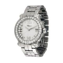 Chopard Happy Sport 7 Floating Diamonds Watch with Diamond Bezel 278477-3002