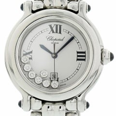 Chopard Happy Sport 8236 with Band, Stainless-Steel Bezel and White Dial