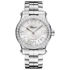 Chopard Happy Sport Automatic Diamond Ladies Watch 278559-3004