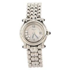 Chopard Happy Sport Classic Round Quartz Watch Stainless Steel