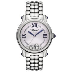 Chopard Happy Sport Happy Diamond Ladies Watch 278610-3001