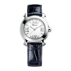 Chopard Happy Sport Mini Diamond Ladies Watch 278509-3001