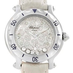 Chopard Happy Sport Snowflake Floating Diamond Watch 278949-3001