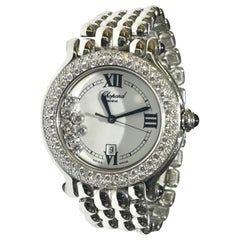Chopard Happy Sport Stainless Steel Watch with Diamonds