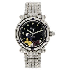 Chopard Happy Sport Stainless Steel Wrist Watch