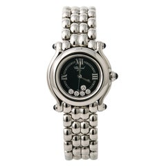 Chopard Happy Sport 27/8245-23, Black Dial Certified Authentic
