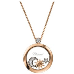 Chopard Happy Sun, Mood and Star Pendent 799434-5201