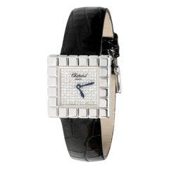 Chopard Ice Cube 127407/1003 Women's Watch in 18 Karat White Gold