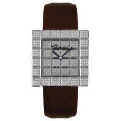 Chopard Ice Cube Diamond Ladies Watch 13-6858-8-20W