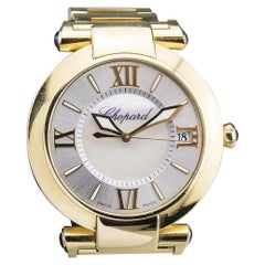Chopard Imperiale 18 Karat Yellow Gold Watch with Mother of Pearl Dial