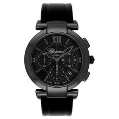 Chopard Imperiale Black Dial Black Rubber Men's Watch 388549-3007
