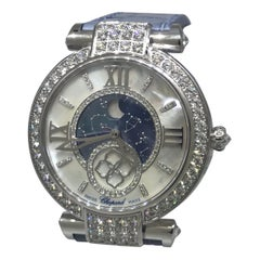 Chopard Imperiale Moonphase Automatic White Gold & Diamond Ladies Watch 38/4246