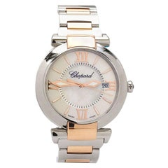 Chopard Imperiale Rose Gold and Stainless Steel Watch