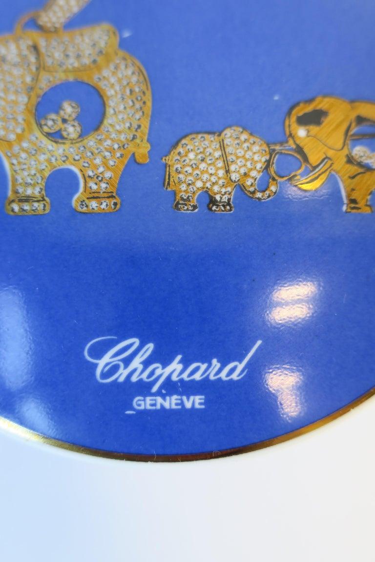 Ceramic Chopard Jewelry Box, 1997 For Sale