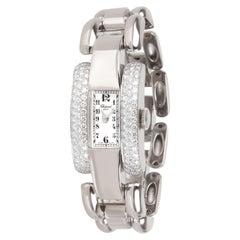 Chopard La Strada 416547-1001 Women's Watch in 18 Karat White Gold