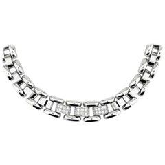 Chopard La Strada White Gold Necklace with Diamonds