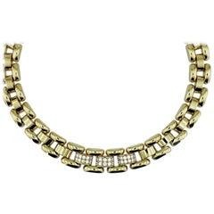 Chopard La Strada Yellow Gold Necklace with Diamonds