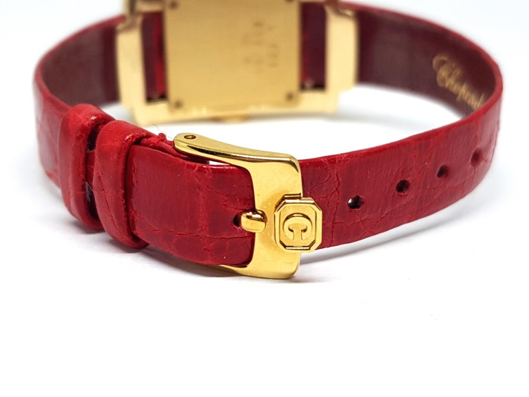 Chopard La Strada Yellow Gold White Diamonds Watch 13