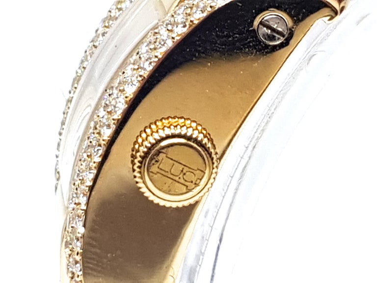 Chopard La Strada Yellow Gold White Diamonds Watch 3