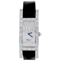 Chopard Ladies White Gold and Diamond Wristwatch