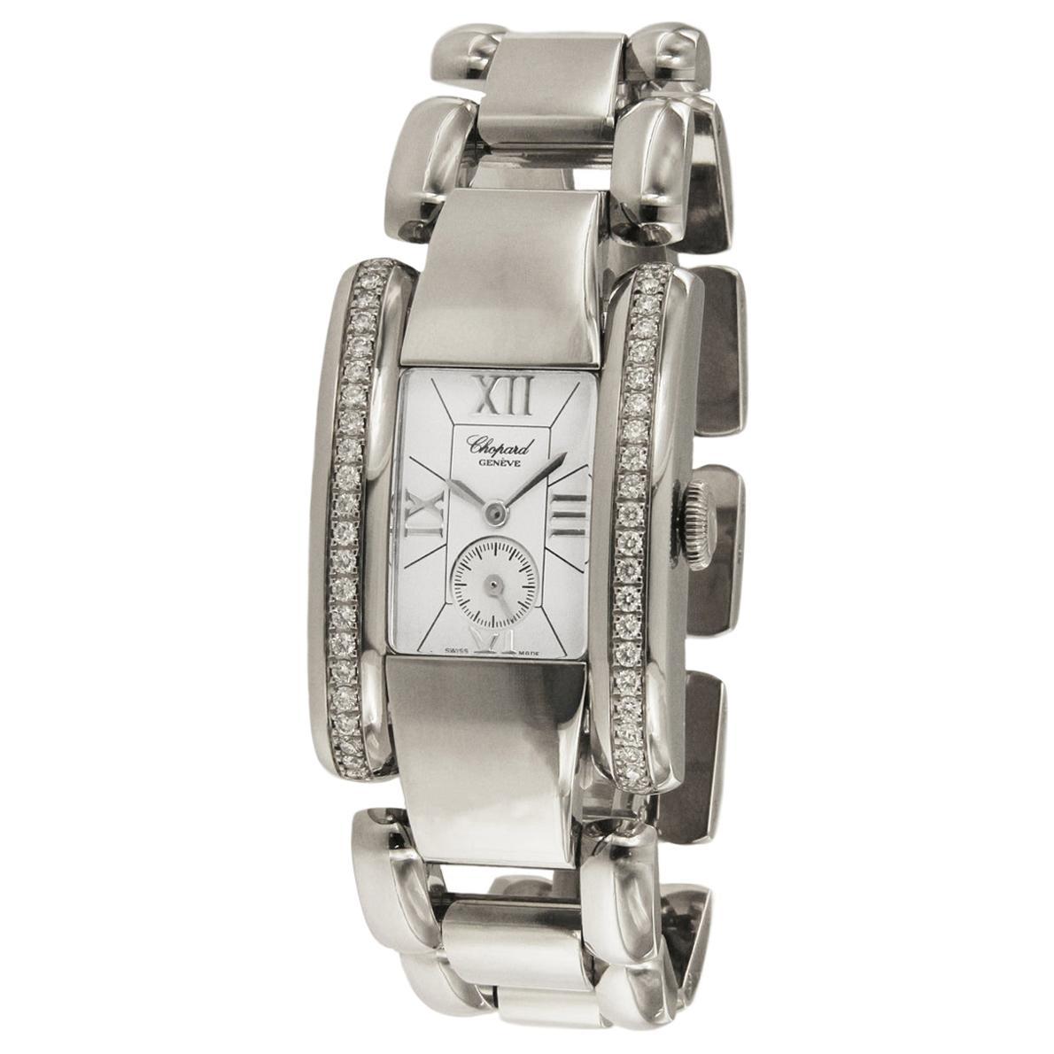 Chopard Lastrada Diamond Stainless Steel Watch 418415