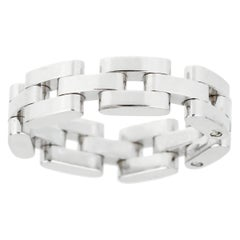 Chopard Les Chaines 3-Row White Gold Ring