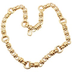 Chopard Les Chaines Yellow Gold Link Necklace