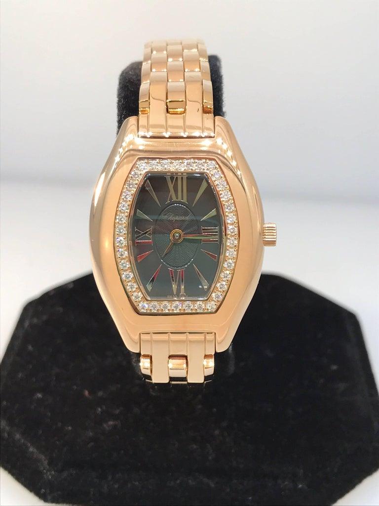 Chopard Les Classique Femme Rose Gold Diamond Bezel