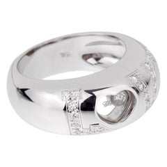 Chopard Love Happy Diamond White Gold Ring