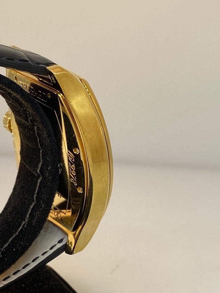 Chopard L.U.C Prince Tonneau Automatic Chronograph Black Dial Mens Watch 16/2278 For Sale 2