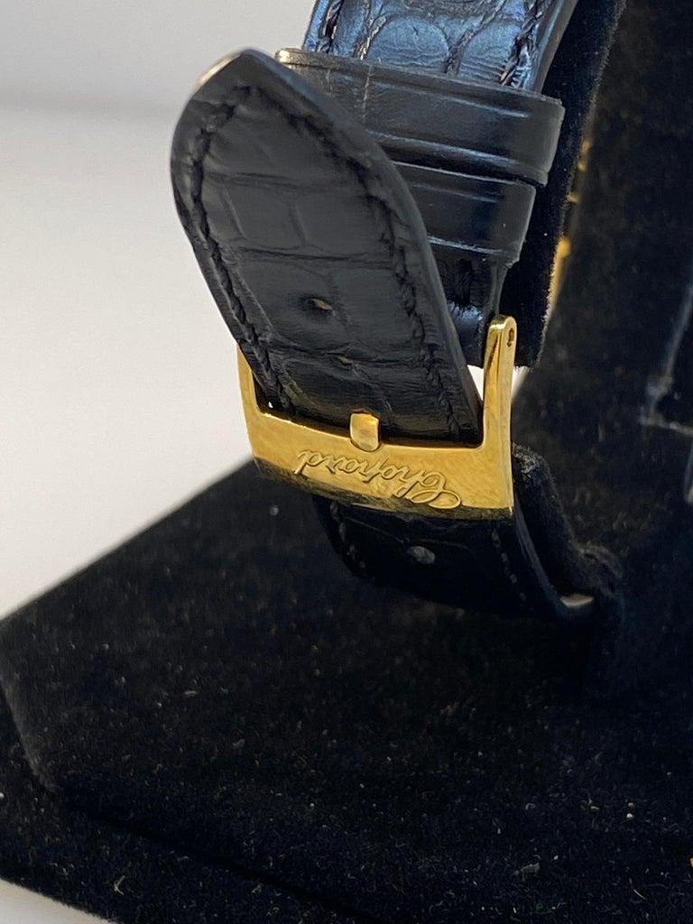 Chopard L.U.C Prince Tonneau Automatic Chronograph Black Dial Mens Watch 16/2278 For Sale 3