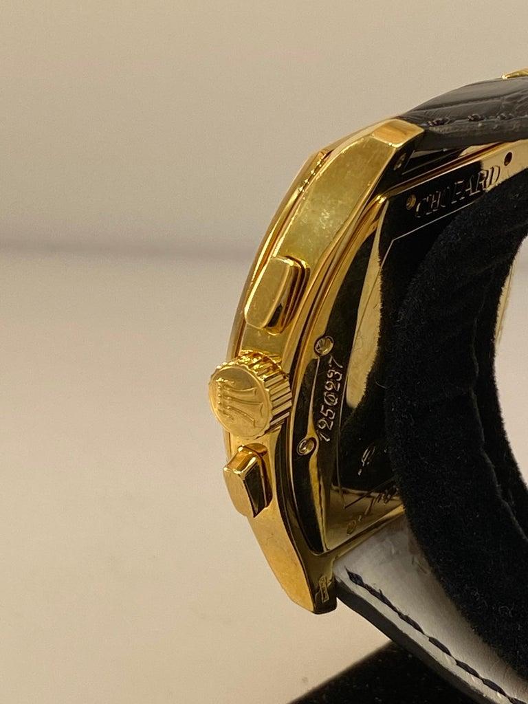 Chopard L.U.C Prince Tonneau Automatic Chronograph Black Dial Mens Watch 16/2278 For Sale 4