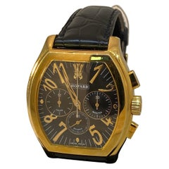 Chopard L.U.C Prince Tonneau Automatic Chronograph Black Dial Mens Watch 16/2278